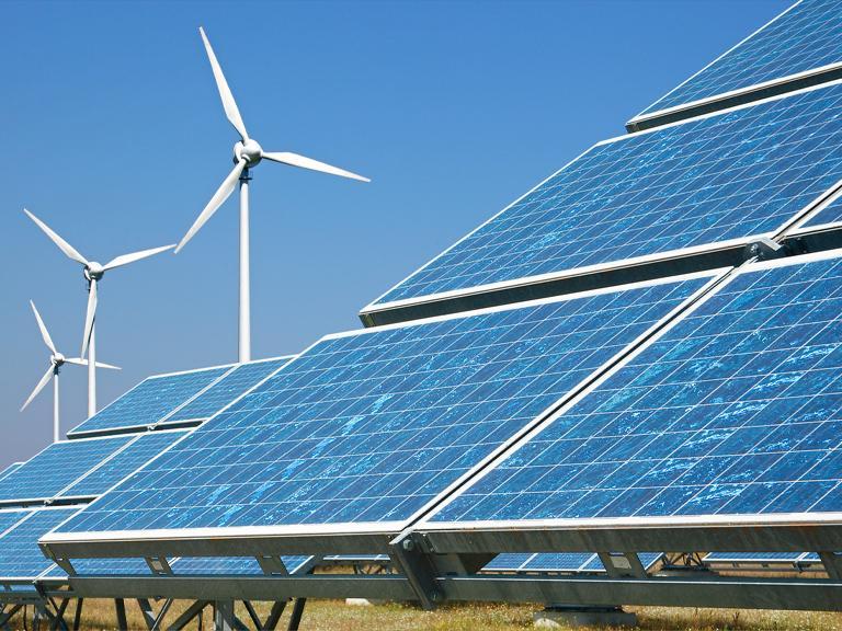 Elektrownie słoneczne iwiatrowe